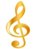 12136865-golden-treble-clef-with-detailed-shading-isolated-on-white-background