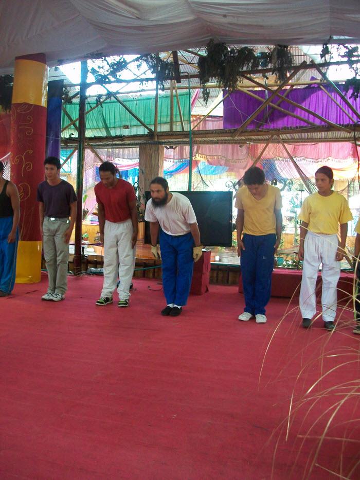 Encuentros en Colombia Levantasierto Juvenil Tao