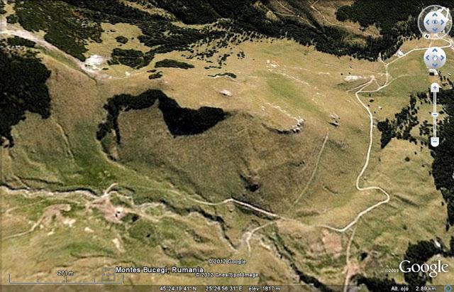 El Secreto de los Montes Bucegi (Rumania)