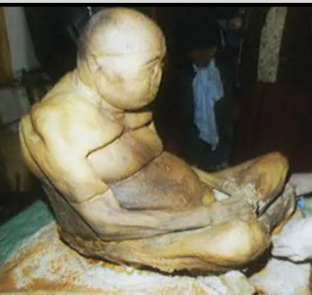 El Cuerpo Inmortal del  Lama Itigilov