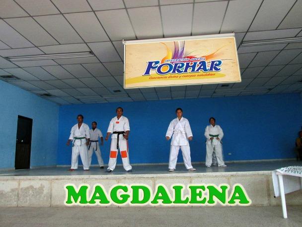Forhar Magdalena, Consciencias Divinas y Cuerpos Saludables.