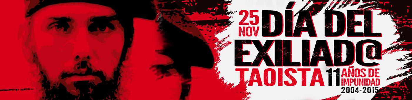 Comunicado el Día Internacional del Exiliado Taoísta