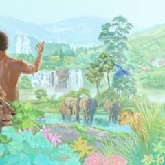 Madre Gaia, los pies, el aseo y la serpiente del paraiso.